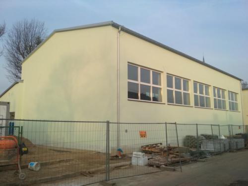 Budowa sali gimnastycznej przy SP w Starych Bielicach