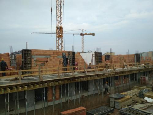 Budowa budynku mieszkalnego przy ul. Tatarkiewicza w Koszalinie