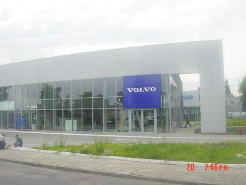 Salon samochodowy Volvo w Szczecinie