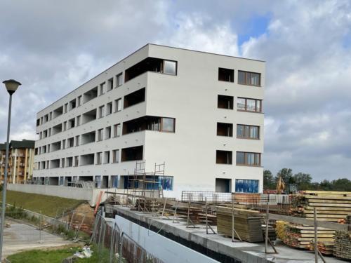 Budowa budynku mieszkalnego nr 1 przy ul. Połczyńskiej w Koszalinie