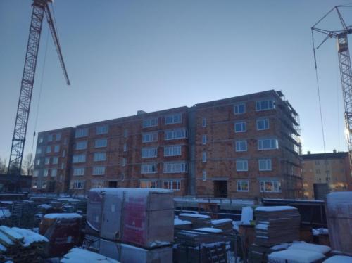 Budowa budynku mieszkalnego przy ul. Połczyńskiej w Koszalinie