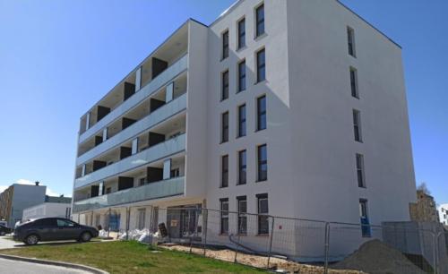 Budowa budynku mieszkalnego przy ul. Wyki w Koszalinie